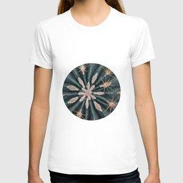 Cactus Plant Close-up Photogrpahy Round Photo T-shirt