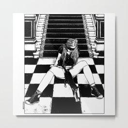 asc 461 - La fille du concierge (Troublemaker at The Saint James) Metal Print