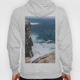 Cliffs off Dún Aonghasa Hoody