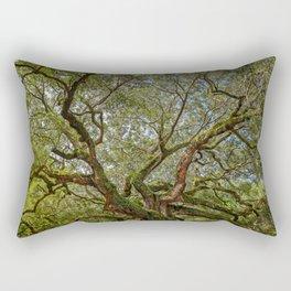 ANGEL OAK TREE CHARLESTON SOUTH CAROLINA DRAMATIC NATURE LANDSCAPE Rectangular Pillow