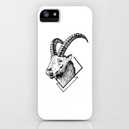 Mountain Goat - HandDrawing iPhone Case