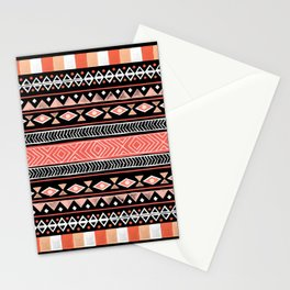 Mojave Black Stationery Cards