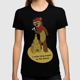 I Enjoy Long Ewoks on the Beach T-shirt
