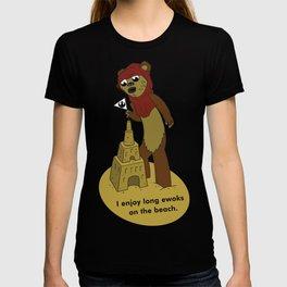 I Enjoy Long Ewoks on the Beach T-shirt