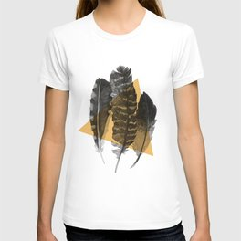 feathers 2 T-shirt