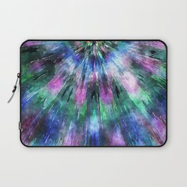Textured Watercolor Tie Dye Laptop Sleeve