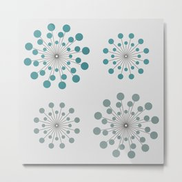 Circles - 9 Metal Print