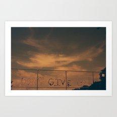 Ever. Art Print