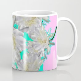 NIGHT BLOOMING TROPICAL CEREUS CACTI ART Coffee Mug
