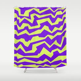 Polynoise Vibrant Royal Shower Curtain