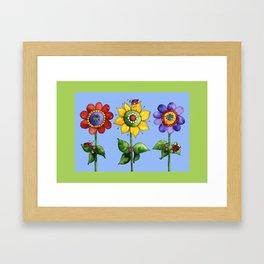 The Three Amigos I Framed Art Print