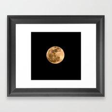 La Luna 3 Framed Art Print