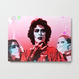 The Rocky Horror Picture Show - Pop Art Metal Print