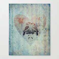 you are my bird Canvas Print