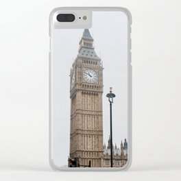 Big Ben at Parliament Street Clear iPhone Case