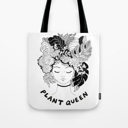 plant queen Tote Bag