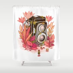 Vintage Cameras Shower Curtain