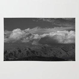 Virgin Mountains - B & W Rug