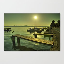 The end of summer  Canvas Print