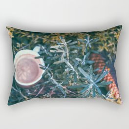Evening Drink Print Rectangular Pillow