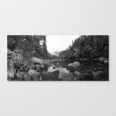 Panaramic Pond Canvas Print