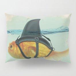 Goldfish with a Shark Fin Pillow Sham