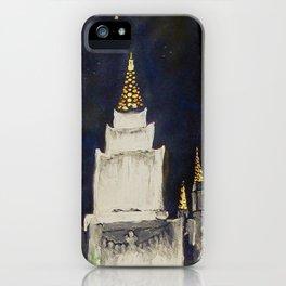 Oakland CA LDS Temple Tie 2 iPhone Case