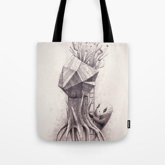 Owl Trumpet Box Tote Bag
