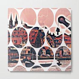 Bamberg Pattern Metal Print