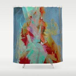 La Mujer y el Fuego Shower Curtain