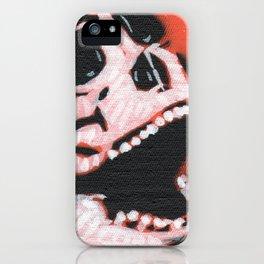 Gunga Skull 06 iPhone Case