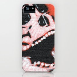 Gunga Skull 06 iPhone Case