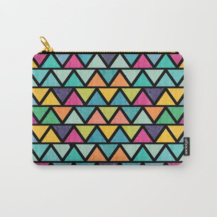 Lovely geometric Pattern IV Carry-All Pouch