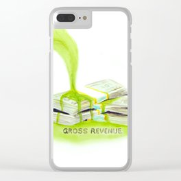 Gross Revenue Accounting Art Clear iPhone Case