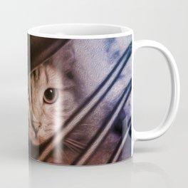 Crouching Kitty  Coffee Mug