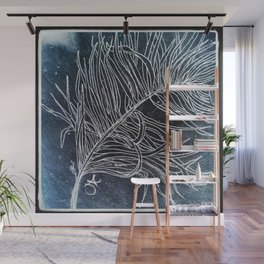 Palm Leaf Earth Day and Easter Wall Mural
