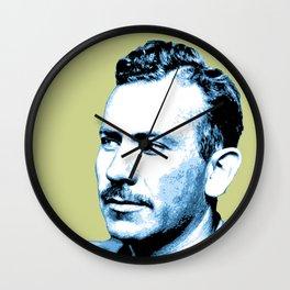 John Steinbeck Wall Clock