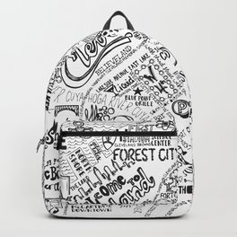 Cleveland Map Backpack