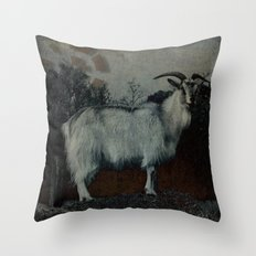 La Capra Throw Pillow