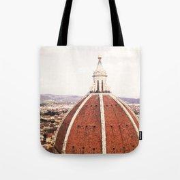 Duomo - Hazy, Florence Photography Tote Bag