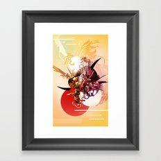 Ikaru mkii Framed Art Print