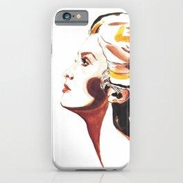 Catherine Deneuve iPhone Case