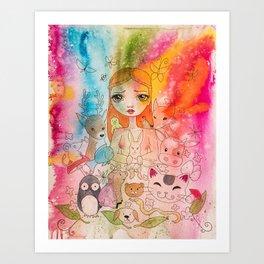 Love for all Art Print