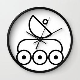 Planet Rover Satellite Wall Clock