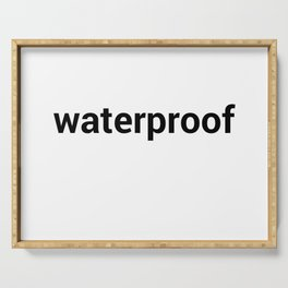 waterproof Serving Tray