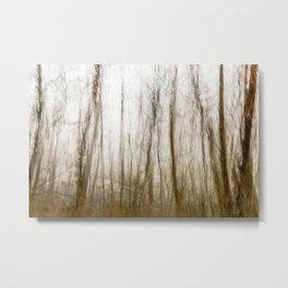Ghostly forest #3 Metal Print