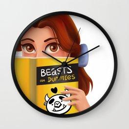 Beasts for Dummies Wall Clock