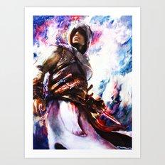 Assassin's Creed.  Altair Art Print