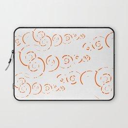 Splatter Swirls Laptop Sleeve