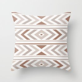 Boho Horizon Throw Pillow